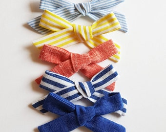 SALE * Summer School girl hand tied bows Collection