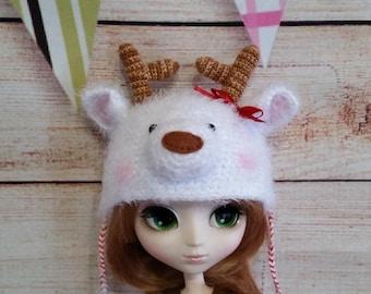 Pullip Blythe deer hat.