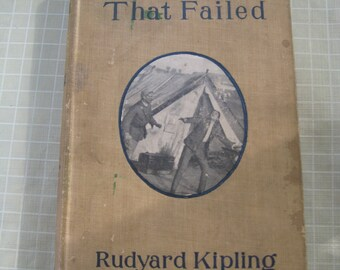 The Light That Failed by Rudyard Kipling Vintage Copy Hardcover 1899