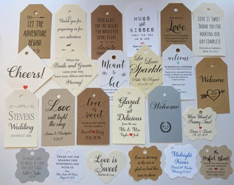 Thank you tags, Party Favor Tags, Custom Tags Favor Tags, Gift Tag Personalize Tags, Wedding Baby Tags Engagement Party, Birthday Party tags