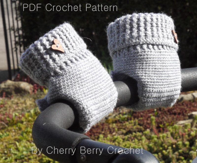 Stroller Hand Muff Crochet Pattern / Stroller Hand Warmer Crochet ...