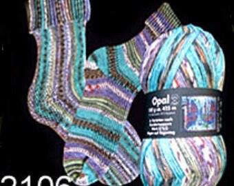 Opal Sock Yarn Hundertwasser, 100g/465yds, #2106