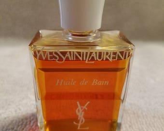 Vintage Yves Saint Laurent Huile De Bain 1 oz