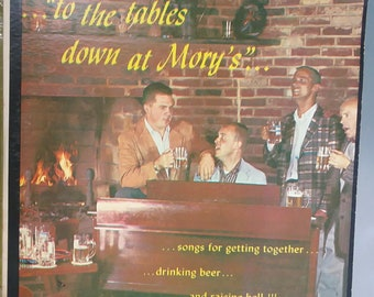 Lee Gotch's Ivy Barflies, To the Tables Down at Mory's, Vintage Record Album, Vinyl LP, Classic Beer Drinking Music, College Frat Songs