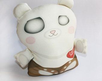 Halloween toy, ghost toy bear, Organic cotton, Stuffed toy, baby toy, plush toy, teddy bear, Organic toy