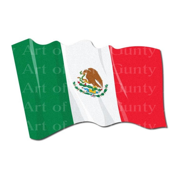 Mexican Flag Birthday - Edible Cake and Cupcake Topper For Birthdays and Parties! - D24062