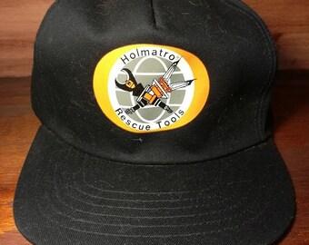 Vintage Holmatro Rescue Tools snapback hat