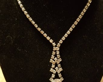 Diamond Beaded Necklace