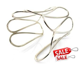 Wide Silver Cuff Bracelet Wide Silver Bracelet Cuff Wide Brass Cuff Bracelet Brass Bracelet Cuff Wide Cuff Bracelet Wide Bracelet Cuff 095