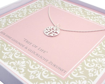 925 sterling silver chain - tree of life - jewelry