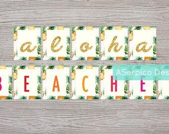 Aloha Beaches Banner