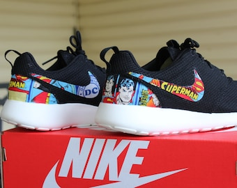 Superman Nike Custom Roshe