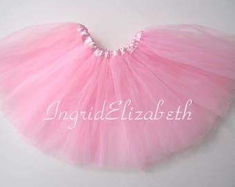 Pink Tutu 4-Layer, Tutu, Tutu for Girls, Pink Tutu, Pink Girls Tutu, Pink Ballet Tutu, Tutu Skirt, Toddler Tutu, Birthday Tutu, Tutu Costume