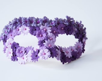 Womens Masquerade Mask, Womens Venetian Mask, Flower Masquerade, Women Mardi Gras Mask, Masquerade Party, Bridal Mask, Women's Masquerade