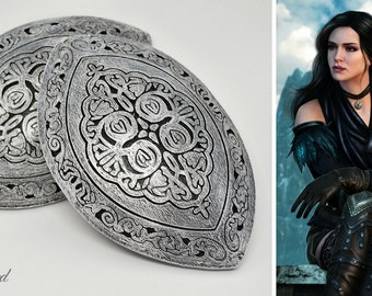 Yennefer knee armor set - The Witcher inspired | Yennefer Cosplay | Yennefer armor | Yennefer alternative look