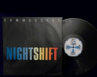 Commodores vinyl night shift