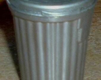 MINIATURE GARBAGE CAN  - Grey (Golden Fleece)