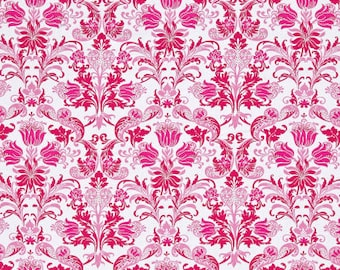 50105 -   Jennifer Paganelli -Sunny Isle Dawn in pink color - 1/2 yard