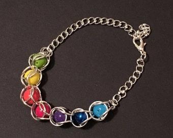 Undertale Souls Bracelet/Keychain