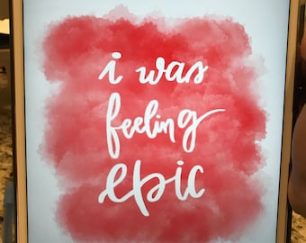 Vampire Diaries- I Was Feeling Epic