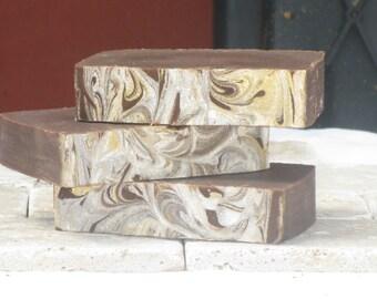 Vanilla Fudge Goat Milk Soap - Cold Process, Artesian, Handmade, Olive Oil, Shea butter, Coconut Oil