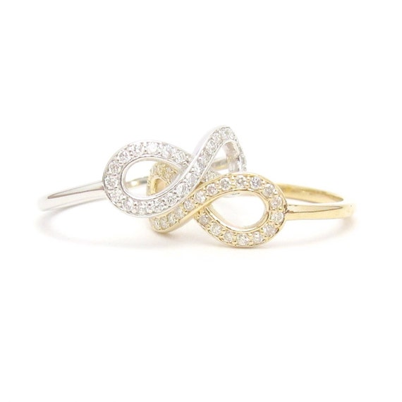 diamond gold designs under gifts infinity symbol white mark michael ring