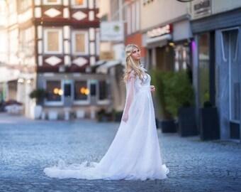 Aurora wedding dress gown haute couture Photoshoot wedding dress wedding dress shooting dress photography drag beads