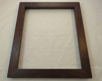 12x14 Maple Medium Brown dye Picture Frame