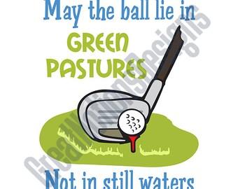 Green Pastures SVG - HTV - Vinyl Cutting Graphic Art
