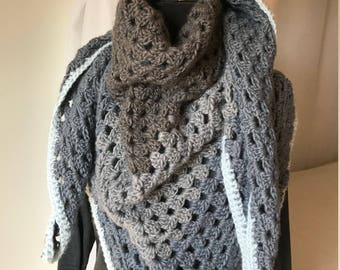Over-sized Triangle Scarf