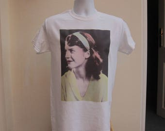 sylvia plath t-shirt feminist feminism author writer retro vtg vintage