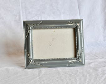 Dark Grey Ornate Frames - 5 x 7 Table frame- Easel frame- Shabby Chic - Painted and Distressed Frames