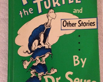 Vintage  Yertle the Turtle and other stories by Dr. Seuss 1958 Great Condition