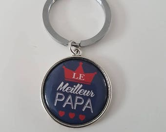 The best dad keychain