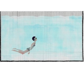 diving (I) by Ana Frois . digital print