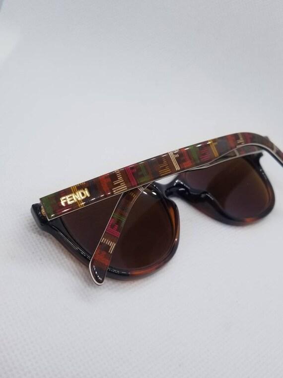 0b2abc0268 Vintage Fendi Eyeglasses Multi colored Sunglasses Frames Mod