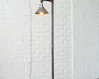 Pipe Floor Lamp Industrial Floor Lamp Edison Bulb Lamp