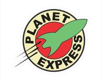 Planet Express Logo Window Bumper Laptop Window Decal Sticker BS-506027