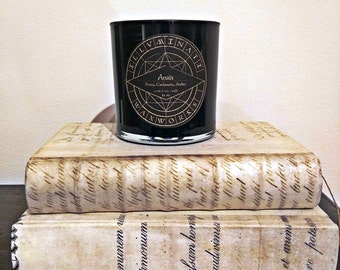 Anais, Literary Candle, Bookish Candle, Literary Gift, Bookish Gift, Gothic Candle, Book Candle, Anais Nin, Scented Soy Candle, Tumbler