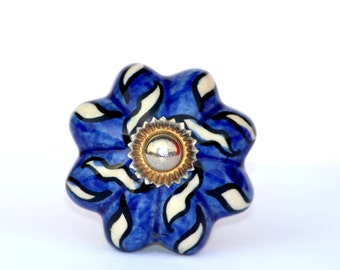 Best Of Blue Glass Cabinet Knobs