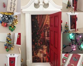 Christmas Elf Door Set