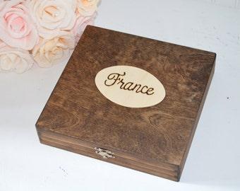 Travel Keepsake Box