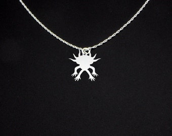Axolotl Necklace - Axolotl Jewelry - Axolotl Gift