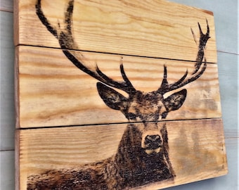 Animals/wildlife wooden plaque