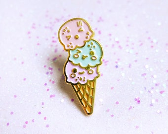 Cheeky Ice Creams Enamel Pin