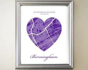 Birmingham Heart Map
