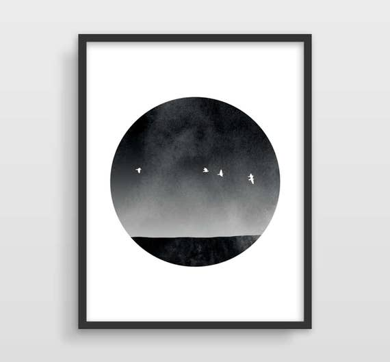 Minimalist black and white prints black and white wall art