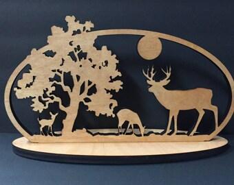 Deer Scene Decoration