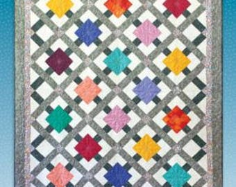 Skylight - Quilt Pattern by Black Cat Creations