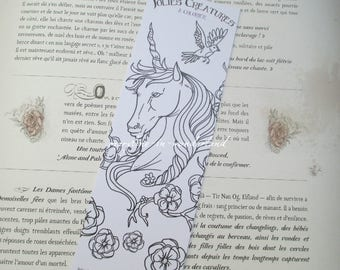 brand coloring Unicorn coloring page